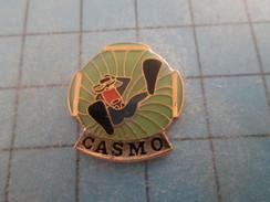 Pin715a Pin's Pins / SPORTS : CLUB PLONGEE SOUS MARINE HOMME GRENOUILLE CASMO  Pas Commun Et De Belle Qualité ! - Diving