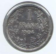 LEOPOLD 2 * 1 Frank 1904 Vlaams * Z.Fraai / Prachtig * Nr 9548 - 07. 1 Franco