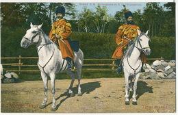Tcherkesses De S.M. L' Impératrice Tsarine Czarine Circassiens à Cheval  Edit Pfister St Petersbourg - Russia