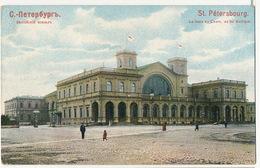 Edit Pfister St Petersbourg La Gare Du Chemin De Fer Baltique - Russia