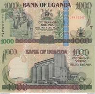 (B0529) UGANDA, 2009. 1000 Shillings. P-43b. UNC - Oeganda
