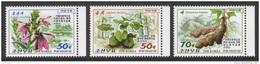 North Korea 2016 Mih. 6305/07 Flora. Medicinal Plants MNH ** - Corée Du Nord