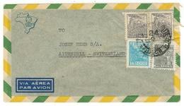 Brésil // Lettre Pour La Suisse - Lettres & Documents