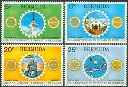 Bermuda 1974, Rotary Mi.# 297-300, MNH / ** - Bermuda