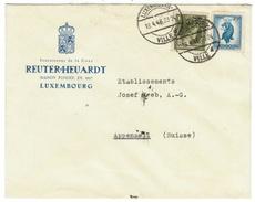 Luxembourg  // Lettre  Pour La Suisse - Luxembourg
