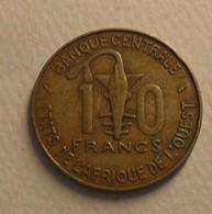 1979 - Afrique De L'Ouest - West African States - 10 FRANCS, BCEAO, KM 1a - Monnaies