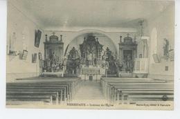 PIERREFAITE - PIERREFAITES - Intérieur De L'Eglise - Autres Communes