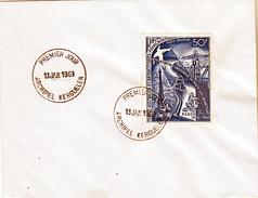 TAAF PA  18 5ème Réunion Consultative  Sur Lettre FDC 13 01 1969 De Kerguelen - FDC