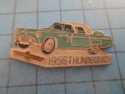 Pin715a Pin's Pins / AUTOMOBILE : FORD THUNDERBIRD 1956 COULEUR OEUF DE CANARD   Pas Commun Et De Belle Qualité ! - Ford