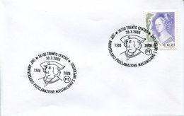 23717 Italia  Special Postmark 2008 Trento,500th Anniv.emperor  Empereur ,kaiser, Maximilian I. - Famous People