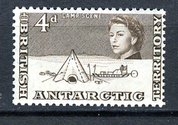 ARCHITECTURE - 1906 - BRITISH ANTARCTIC TERRITORY - Mi. Nr. 7 -  LH - (CW2427.49) - Territorio Antartico Britannico  (BAT)