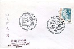 23724 Italia  Special Postmark 2000 Arco Trento, Bonsai Exhibition Congress - Autres