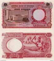 NIGERIA       1 Pound       P-8      ND (1967)       UNC - Nigeria