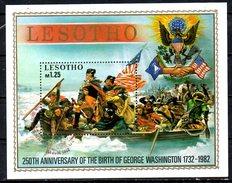 LESOTHO. BF 15 Oblitéré De 1982. G. Washington. - George Washington