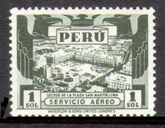 PERÚ-Yv. Aº 57-MLH -Emisión Waterlow - 1 Sol-N-9634 - Pérou