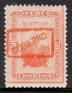 PERÚ-Yv. Serv. 6-Nuevo Sin Goma -N-9635 - Peru