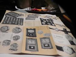 PUBLICIE PAPIER DE L/DAURELLE HORLOGER /BIJOUTIER /ORFEVRE A ANNONAY - Publicités
