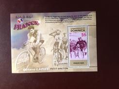 Dominica 2003 Tour De France Minisheet MNH - Dominica (1978-...)
