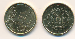 Vatikan 2017 - Original, Offizielle 50 Cent Münze - Wappen Von Papst Franziskus - Vatican