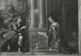 Roma - Museo Capitolino - Garofalo - Annunciazione.    Italy.  # 06957 - Museum