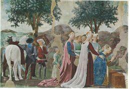 Painting - Piero Della Francesca.  L`Adorazione Del Ponte. Arezzo,San Francesco   Italy.  # 06958 - Sculpturen