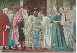 Painting - Piero Della Francesca.  Il Ricevimento Della Regina Di Saba. Arezzo,San Francesco   Italy.  # 06959 - Sculpturen