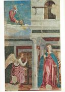 Painting - Piero Della Francesca.  L`Annunciazione. Arezzo,San Francesco   Italy.  # 06960 - Sculpturen