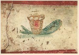 Roma - Catacomba Di Callisto. In Lucina - Pesce Con Le Specie Eucarisfiche.  Italy.  # 06961 - Roma (Rome)