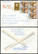 Nederland - Registered Cover (Mi. 956, 1044) WASSENNAR - Burglengenfeld - Period 1949-1980 (Juliana)