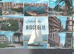 BISCEGLIE,VEDUTE DIVERSE.PANORAMA,VIAGGIATA-1971-FG-576-T- - Bisceglie