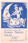 Co L G/Buvard   Couverture De Laine Good Night (N= 1) - Buvards, Protège-cahiers Illustrés