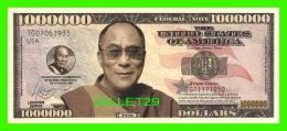 BILLETS , ONE MILLION DOLLARS - GYATSO  - UNITED STATES OF AMERICA - - Etats-Unis
