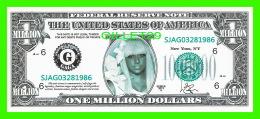 BILLETS , ONE MILLION DOLLARS - LADY GAGA - UNITED STATES OF AMERICA - - Etats-Unis