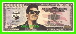 BILLETS , ONE MILLION DOLLARS - ROY ORBISON - UNITED STATES OF AMERICA - - Etats-Unis