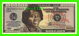 BILLETS , ONE MILLION DOLLARS - JAMES BROWN - UNITED STATES OF AMERICA - - Non Classés