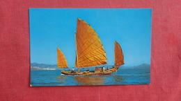 China (Hong Kong) Chinese Fishing Junk - Ref 2639 - China (Hong Kong)