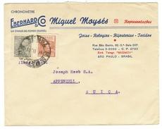 Brésil // Lettre Pour La Suisse 1947 - Lettres & Documents