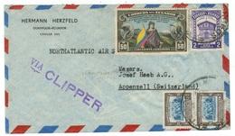 Equateur // Lettre Pour La Suisse (Via Clipper) - Equateur
