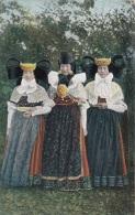 3 Frauen In Bückeburger Volkstracht, Nicht Gelaufen Um 1915, Sehr Gute Erhaltung - Trachten