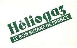 """(D 9)   Buvard   Gaz Butane """"Héliogaz"""" - G"""
