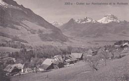 Châtel Sur Montsalvens Et Le Moléson - FR Fribourg