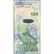 TWN - BERMUDA 60b - 20 Dollars 1.1.2009 Hybrid - Onion Prefix UNC - Bermudas