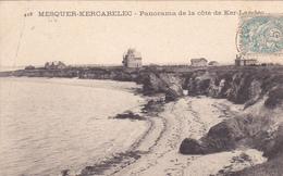 44. MESQUER KERCABELES. CPA. PANORAMA DE LA COTE DE KER LANDEC. ANNEE 1905 - Mesquer Quimiac