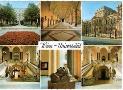 AT-9: WIEN: Universität - Mehrbildkarte - Vienna Center