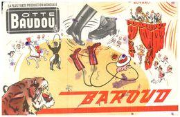 "(D 9)   Buvard  Botte Baudou ""Baroud"" - Blotters"