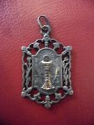 Pendentif Argent Touraine 5 Fleur De Lys Religion Catholique - 1 ère Communion - Religion & Esotericism