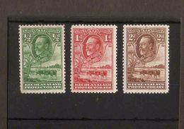 BECHUANALAND 1932 ½d - 2d  SG 99/101 MOUNTED MINT Cat £7.75 - 1885-1964 Herrschaft Von Bechuanaland