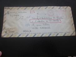 EMA Lettre Du Bresil  Brasilia Recommandé Registered 1978 Amérique  Brésil  1970-79  Document Alliance Fr - Storia Postale