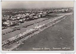 RIMINI MIRAMARE 1957 SCORCIO DALL'AEREO - Rimini
