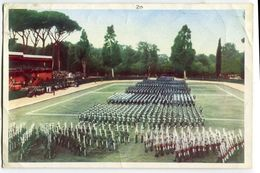 CARTOLINA CORPO DELLE GUARDIE DI P.S. POLIZIA MANIFESTAZIONE CELEBRATIVA DEL 106° ANNULAE ROMA ANNO 1958 - Polizia – Gendarmeria
